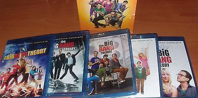 big bang theory TEMPORADAS SUELTAS  1-2-3-4- 5 O 6 EN BLURAY