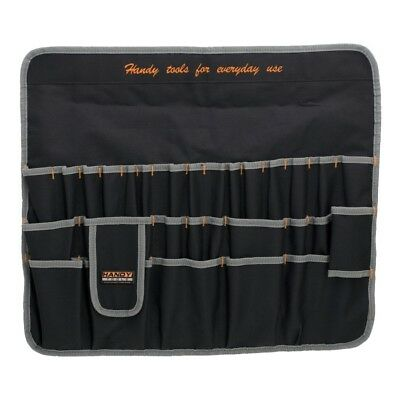 10239 Handy Multi Chisel/Screwdriver/Spanner Tool Roll Hang Holder 30 Pockets