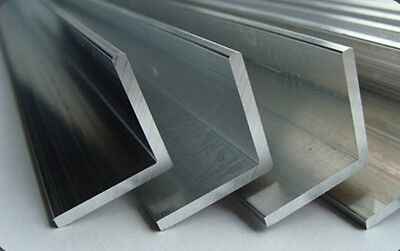 ALUMINIUM EXTRUDED ANGLE  -Various Sizes - 1 meter long - BEST PRICE
