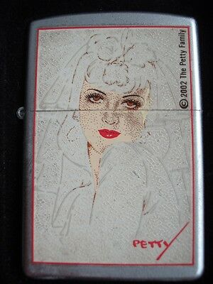 Petty Girl The Bride Zippo Lighter New In Tin Sealed Dated 02 Pinup Girl