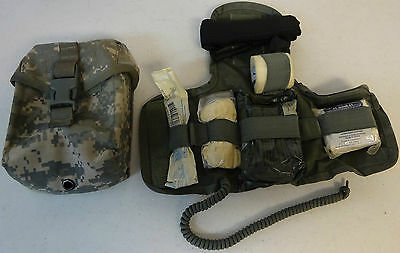 IFAK Insert First Aid Kit Individual New W/ Gently Used ACU Pouch Item 2