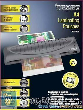 A4 Laminating Pouches 250 MCN (PK 100)