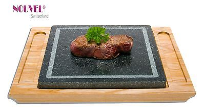 "Heisserstein-Set / Hot Stone Set  Nouvel Swiss   "" Gastro """