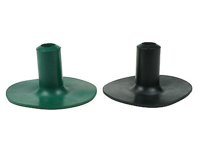 Protective Walking Stick/cane Ends Ferrules For Bowling Greens - Two Colours