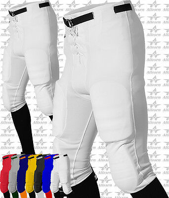 Alleson Athletic Youth Boys Slot Football Practice or Game Pants W/O Pads 613BSL
