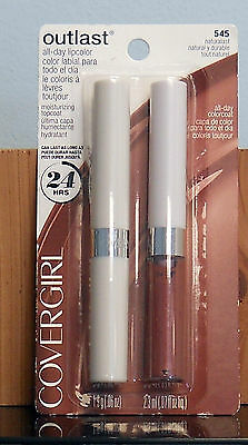 CoverGirl Outlast All Day Lipcolor # 545 Naturalast  (Factory Sealed)