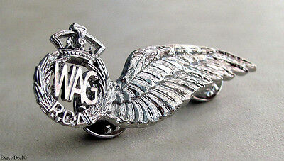 Canada Royal Canadian Air Force Wireless Air Gunner Sweetheart  Wing Badge