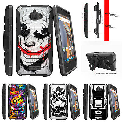 For CoolPad Catalyst| Rugged Holster Clip Stand Case Joker
