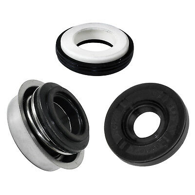 WATER PUMP MECHANICAL OIL SEALS Fits KAWASAKI NINJA ZX-6R ZX600 ZX636 1995-2012