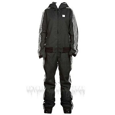 ADIDAS Women's 2014 Snowboard Snow Black FIREBIRD 2L ONE PIECE Snowsuit