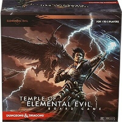 Dungeons and Dragons - Temple of Elemental Evil Board Game