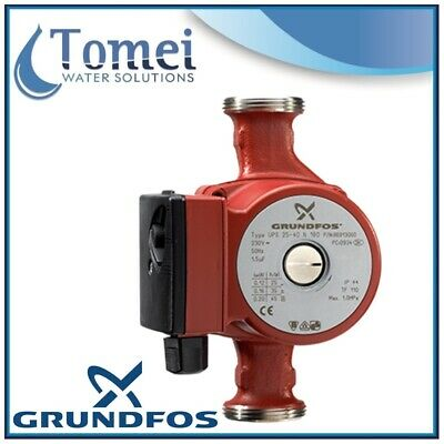 GRUNDFOS Hot water recirculation UP 20-07N 50W 1x230V 150mm 50Hz