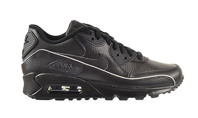 new concept ad400 1818a Nike Air Max 90 (GS) Big Kids Shoes Black Grey 307793-002g