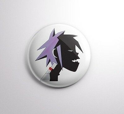 Gorillaz -  Pinbacks Badge Button 25mm 1''