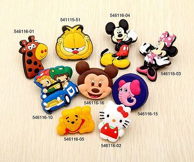 541115 Kids Bedroom Decorative Drawer Cabinet Soft Knob Cupboard Handle Animals