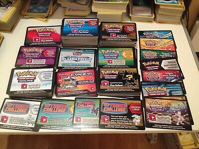NEW Pokemon Online TCGO BOOSTER / DECK TCG Codes XY / B&W / Sun & Moon Code FAST