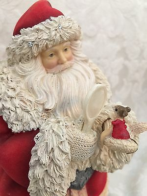 The Heart Of Christmas Karen Hahn Santa Mouse Mice 2015 4046829 Enesco Figurine