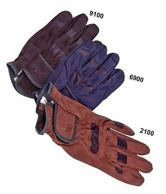 HKM Professional Gloves - Black - NEW Imp Germany