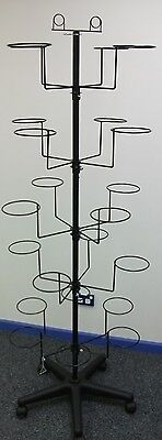 22 Ring Wire Display stand to suit Hats, Caps, Balls *Australian Made*