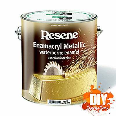 Resene Enamacryl Metallic Effect Paint Shimmer Sparkle Glitter 44 Colours