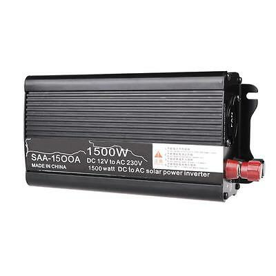 1500W 12V-220V / 240V AC Household Car Solar Power Inverter Converter Adapter