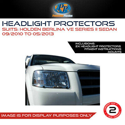 Headlight Protector To Suit Holden Ve Commodore Series Ii 10-13