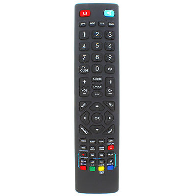 """Genuine Replacement Remote Control for Technika 32F22B-FHD/DVD 32"""" HD LED TV"""