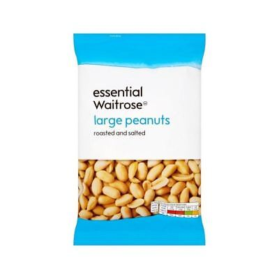 Large Roasted Salted Peanuts essential Waitrose 500g
