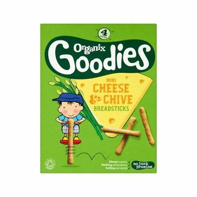 Organix Goodies Cheese & Chive Breadstick 4 x 20g