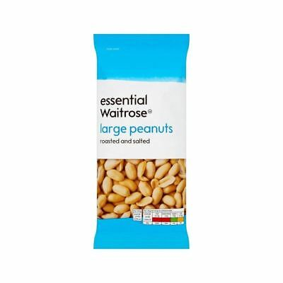 Large Peanuts Roasted & Salted essential Waitrose 200g