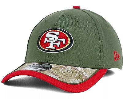Men's San Francisco 49ers New Era Scarlet/Black Fan Training Camp Reverse 39THIRTY Flex Hat