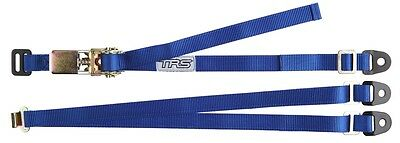 TRS Spare Wheel Strap BLUE - 3-Point Fixed Adjustable Ratchet Tie-Down 25mm/1""