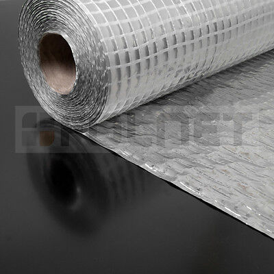 Vapour Barrier Thermal Insulation Aluminium Foil Membrane - 1.5 x 50m (75SQ/M)