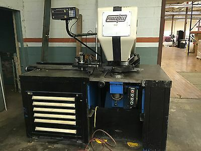 Punch press,  Pierce-All 3030,  tooling,  punching machine, strippit punch
