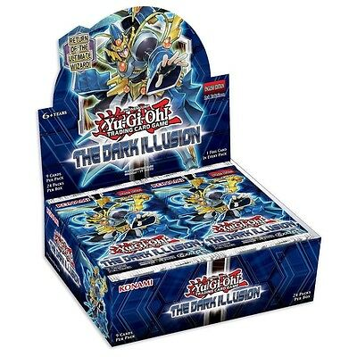 YuGiOh The Dark Illusion Booster Box 24 Booster Packs Brand New IN STOCK