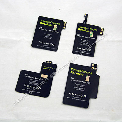 Qi Wireless Charging Charger Cover Receiver Module Coil for Samsung Galaxy Phone