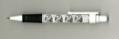 Sealyham Terrier Dog Design Retractable Acrylic Ball Pen by paws2print