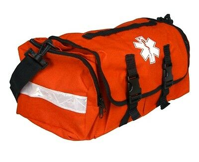 First Responder EMS EMT ParamedicTrauma Bag With Reflectors - Orange