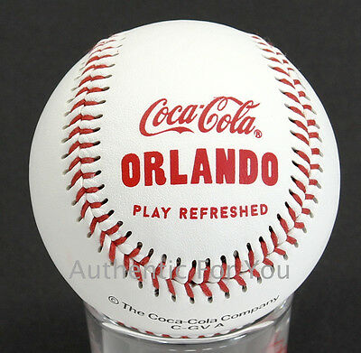 NEW Disney Springs World of Coca-Cola Coke Store Orlando Collectible Baseball