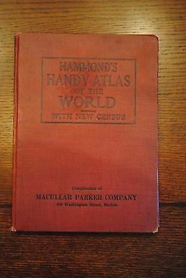 Hammond's Handy Atlas of the World 1915