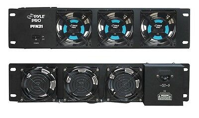 NEW Pyle PFN31 19'' Rack Mount DJ Equipment Cooling Fan System