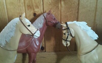 Breyer Marx Johnny west horse custom bridle halter lot three