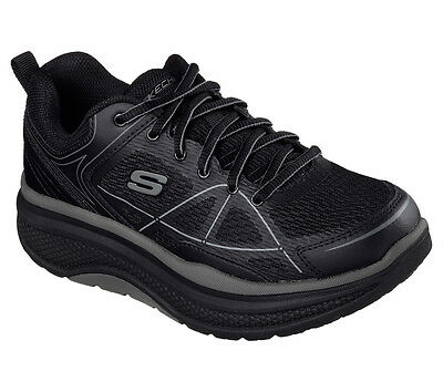 76589 Black Skechers Shoe Women New Work Slip Resistant Memory Foam Comfort Mesh