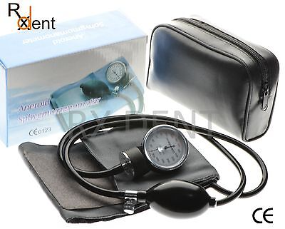 Professional Aneroid Sphygmomanometer Adult Cotton Cuff Blood Pressure Monitor