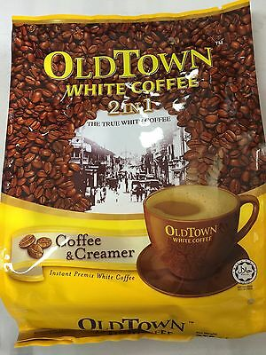 Old Town Instant White Coffee 2 in 1 Coffee & Creamer 25G x 15 Sachets
