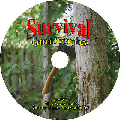 257 SURVIVAL Manuals & Books on DVD, Off the Grid Prep Doomsday Prepper How to