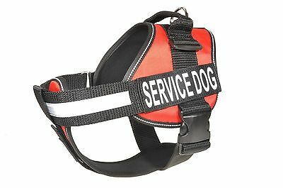 Reflective Service Dog Vest Cool Comfort Choose 2 Patches All Sizes 2 Colors IDC
