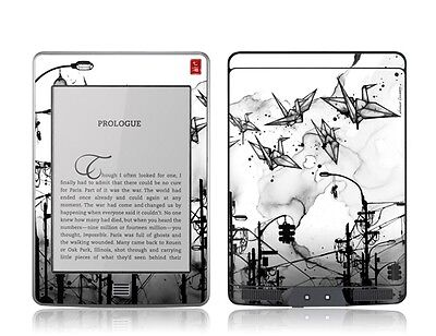 Gelaskins Protective Vinyl Skin for Kindle Touch -  Cable Cranes
