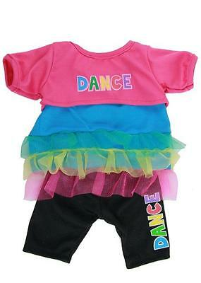 "Dance 3-Piece Outfit - 16""/40Cm Teddy Bear Clothes & Build Your Own Bear"