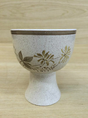 Vintage Retro  Royal Doulton Glazed Lambeth Stoneware Pottery Goblet